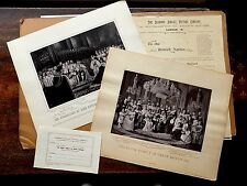 1897 Royal Family Jubilee Victoria & Edward 7th Coronation photos + Ephemera