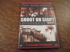 dvd shoot on sight tir a vue avec brian cox, greta scacchi, naseeruddin shah