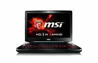 MSI GT80 TITAN 18.4in Gaming Laptop 3.6GHz 32GB 1TB SSD 2TB GTX 980 SLI WIN 7