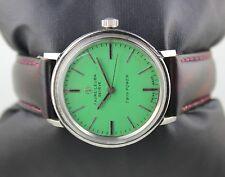 Vintage favre leuba mens winding swiss made working wrist watch 100%authentic