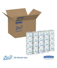 Scott Standard Roll Bathroom Tissue, 2-Ply toilet paper, 20 Rolls 550 Sheets