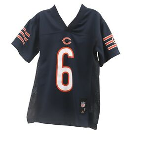 Unisex Chicago Bears football Jay Cutler #6 Official NFL Youth Jersey New