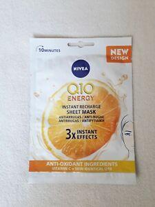 NEW NIVEA Q10 Energy Sheet Mask  ** FREE SHIPPING WORLWIDE**