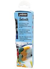 Pebeo Setasilk 6 x 20 ml Tissu De Soie Peinture Textile Peinture Craft Hobby Art
