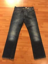 JACK & JONES Vintage Rick Original Distressed Button Fly Denim Jeans - Size 31