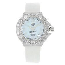Tag Heuer WAC1215.FC6219 Formula 1 36MM Women's Diamond White Leather Watch