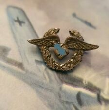 WW2 Original German DLV Small Pin Badge Deutsches Luftsport Verbandes WK2 Rare