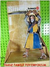 Schleich Foot Soldier with Sword Lion Medieval Retired New 70051 Unpunched Box