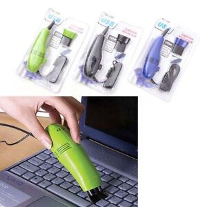 Ba30DEllylelly Kleine USB-Computer Tastatur Staubsauger Mini Staubsauger Reiniger Computer f/ür PC Laptop Desktop