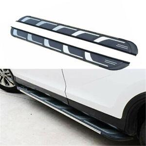 2Pcs Fits for Chevrolet Chevy Trailblazer 2021 Side Step Running Board Nerf Bar