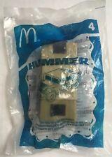 General Motors GM Hummer H1 Plastic Toy Car 2006 McDonalds Happy Meal Toy NIP