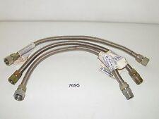 """3 Dormont Gas Range Furnace Stove Appliance Connector 3/4"""" MIP x 3/4"""" FIP x 24"""""""