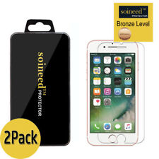 2-Pack SOINEED For iPhone 6 7 8 Plus Tempered GLASS Screen Protector Bubble Free