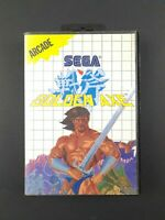 Golden Axe | Sega Master System Game | Complete With Manual | Arcade