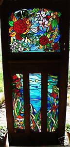 AUSTRALIAN WILDFLOWERS Stained Glass Art, Hand Crafted & Designed to Suit You.