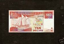 Old 10 dollar Singapore note - Ship series for sale