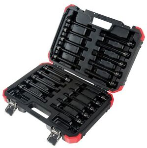 Sunex 2637L Tools 20-piece 1/2 In. Drive Impact Hex Driver Master Set - 6 In.