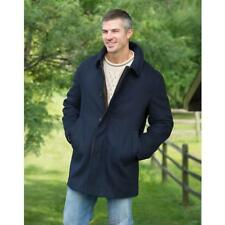 The Steinbock International Classic Tyrolean Loden Sheep Wool Coat Navy 48