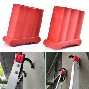 2pcs Replacement Slip Proof Step Ladder Feet Cover Rubber Foot Grip Cover