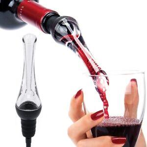 1Pcs Red Wine Aerator Pour Spout Bottle Stopper Decanter Pourer Aerating for Bar
