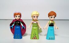 LEGO Friends Frozen Lot of 3 Princess Elsa Celebration Green & Anna Minifigure