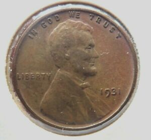 1931-P US Lincoln Wheat Cent Penny Coin Nice Condition