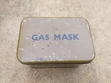 More details for original second world war home front private purchase gas mask tin