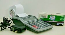 Casio HR-8TM Printing Calculator With Power Adpt. and 2 rolls of paper