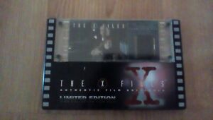 NEW The X Files Authentic Film Originals Limited Edition 35MM Film Cels End Game