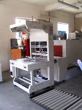 Shrink wrap wrapping tunnel shrinkwrap machine bottles and cans Exdemo £9999+vat