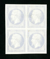 France Stamps Superb Rare Trial Color Block 4 Signed