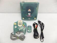 SEGA Dreamcast CONSOLE SYSTEM HKT-3000 HELLO KITTY BLUE SEGA DC JAPAN