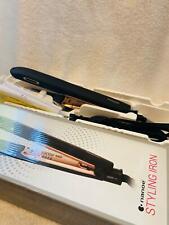 Panasonic Nanoe Hair Styling Iron EH-HS99-K, Flat Iron Hair Straightener