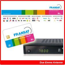 FRANSAT HD SATELLITE - KIT RICEZIONE DECODER E SMART CARD DA ATLANTIC BIRD