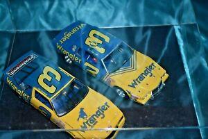 Nascar 1/24 2 Dale Earnhardt #3 Wrangler Die Cast Cars