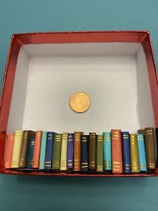 dollhouse miniature books lot 20 books