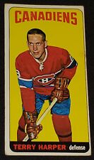 1964/65 TOPPS TALL BOY - TERRY HARPER MONTREAL CANADIENS - NHL HOCKEY CARD No.3