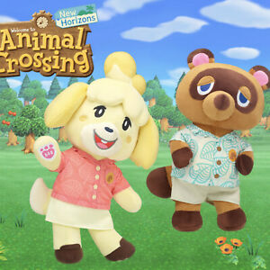 Tom Nook & Isabelle Animal Crossings x Build A Bear with Music