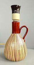 UPSALA EKEBY SCHWEDEN KERAMIK DESIGN LAMPENFUSS POTTERY 50/60er JAHRE VINTAGE
