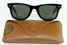 Ray Ban 2140 901 Wayfarer Classic Black Sunglasses 50mm New and Authentic