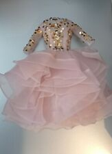 Robe dress Barbie Silkstone Blush and Gold perfect condition