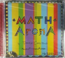 Math Arena CD-ROM Scholastic ages 9-12 New