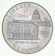 Unc 2001-P U.S. Capitol Visitor Center Commemorative US Dollar 90% Silver *687