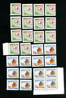 Korea Stamps # 547-8 VF Lot of 14 OG NH Scott Value $91.00