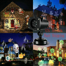 Moving Laser Projector Lamp Landscape Light Xmas Halloween Party Indoor Outdoor