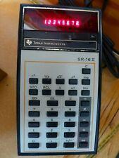 Vintage Ti Texas Instruments Sr-16 Ii Working Calculator Red Display Plug Ac