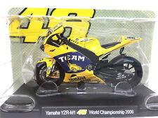 Leo 1:18 VR46 Rossi Yamaha YZR-M1 WC 2006 Motogp Model
