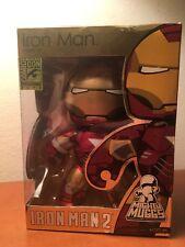 "Iron Man Mark VI 6"" Figure Mighty Muggs Iron Man 2 Movie Flip Up Visor SDCC 2010"