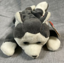 Nanook The Husky TY Beanie Baby Rare-Retired! Vintage 1996 Mint Condition