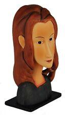 Sculpture A. Modigliani * Jeanne Hébuterne * face